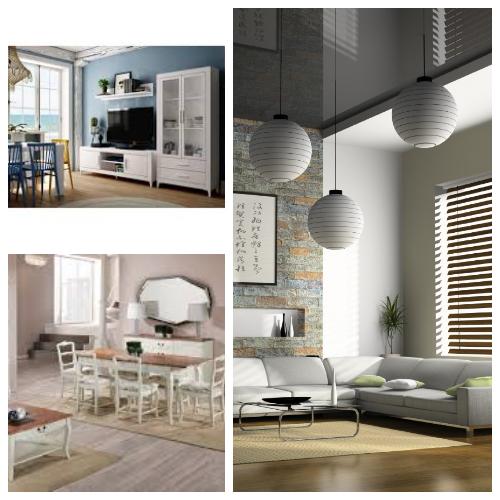 salon minimalista,salon vintage o clasico, salon nordico, salon colonial