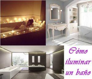 Cómo iluminar un baño