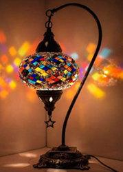 lámparas de mosaico turcas