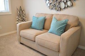 Sofa pequeño para salones pequeños